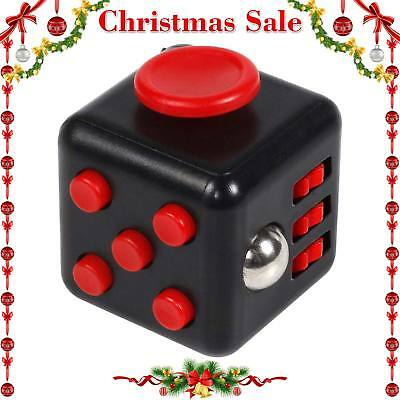 Fidget Cube Toy Stress Anxiety Relief Desk Relief 6 Sided For Adults Kids Focus