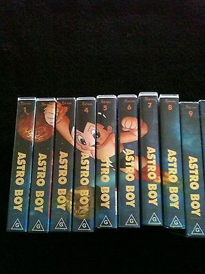 Atsro Boy Vintage VHS Collection Full Set New Never Used