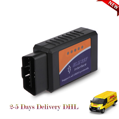 Mini Wireless ELM327 Bluetooth Diagnostic Car Scanner Android Windows Devices