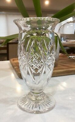 Beautiful Vintage Stuart Crystal Vase #115