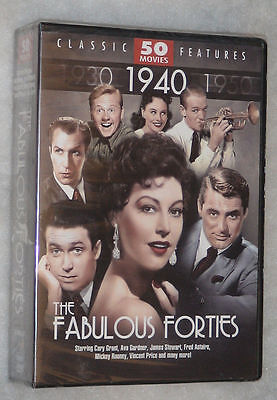 The Fabulous Forties - 50 Classic 1940's Movies Collection  - DVD Box Set