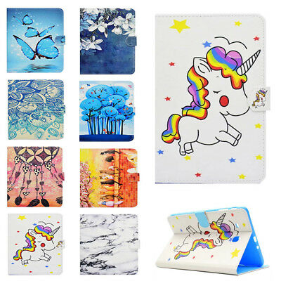 for Samsung Galaxy Tab E 9.6 SM-T560 Magnetic Case PU Leather Flip Stand Cover