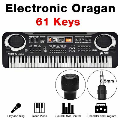 New 61 Keys Digital Music Electronic Keyboard Key Board Electric Piano Gift