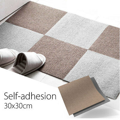 30x30cm Self-adhesive Carpet Tiles Commercial Heavy Duty Flooring Office Cover