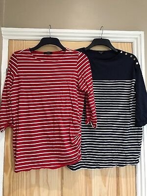 Two New Look maternity tops bundle (two tops) size 14