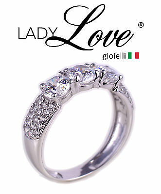 Ring Trilogy Women's Gold 18 Carat Carats ( 750‰ ) + Incision