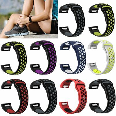 Silicone Breathable Replacement Wristband Watch Band Straps For Fitbit Charge 2