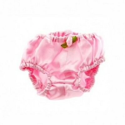 "Teddy Bear Pink satin knickers fits 15"" Build a Bear"