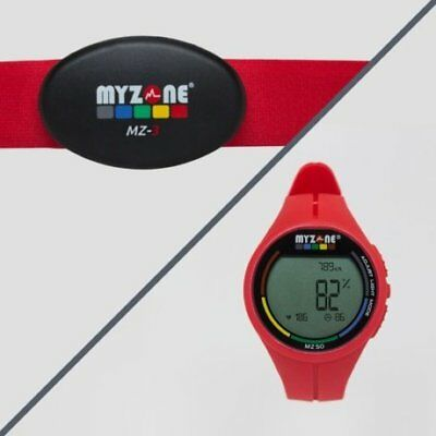 MYZONE MZ-3 Physical Activity Belt and Watch (Red)