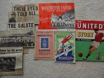 1948 Fa Cup Final package - Manchester United v Blackpool ( Superb items )