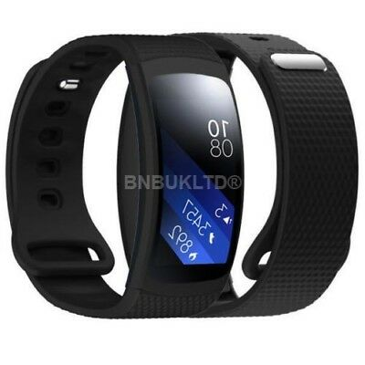 Silicone Fitness Band Strap For Samsung Galaxy Gear Fit 2 & Screen Protector