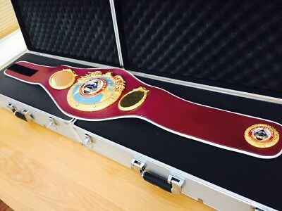 Authentic SARTONK WBO Championship Boxing Belt- Ring Won Trophy -please Read