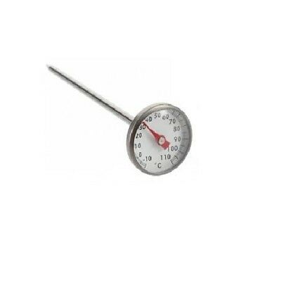 Professional Cheese Making Milk Thermometer Cooking Stainless Steel 0-120C Probe