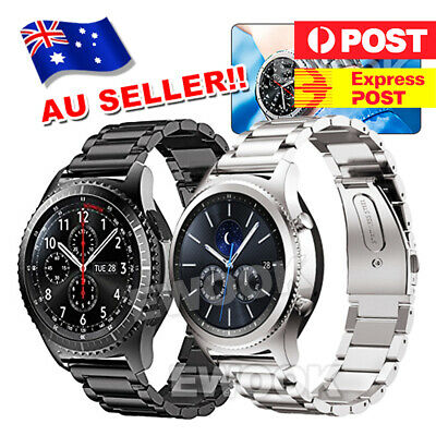 Band Strap Stainless Steel Wristband For Samsung Gear S3  Frontier/Classic Watch