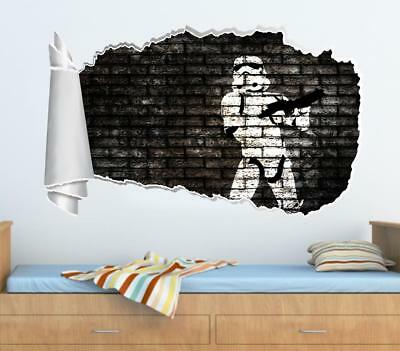 Star Wars Stormtrooper 3d Effect Wall Stickers Art Decals 541