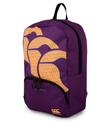 New Canterbury Kid's Back To School Backpack - Rucksack Unisex Purple One Size