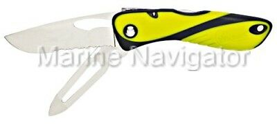 WICHARD Offshore Knife with Marlinspike Fluorescent