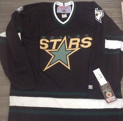 Brand New with Tags Vintage Dallas Stars NHL Jersey