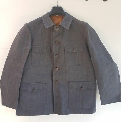 Ancienne veste de chasse. Neuve/NOS french hunting jacket.T46. 1940/50's
