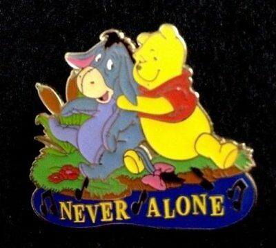 Disney pin Magical Musical Moments Never Alone Eeyore Lullaby & Winnie the Pooh