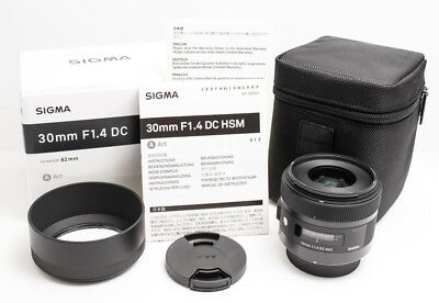 Sigma 30mm F/1.4 DC HSM Art Canon EF Mount