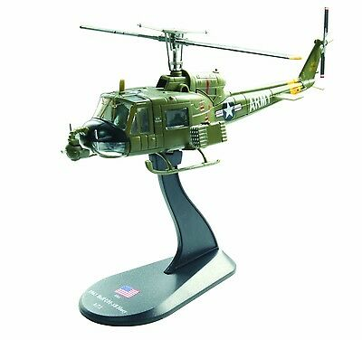 BELL UH-1B Huey diecast 1:72 helicopter model (Amercom HY-1)