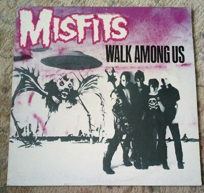 Misfits Walk Among Us LP Italian Press 1982