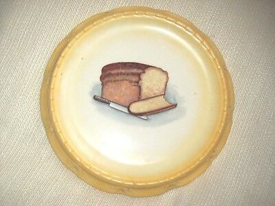 Antique Bread Plate   - made in Slovakia