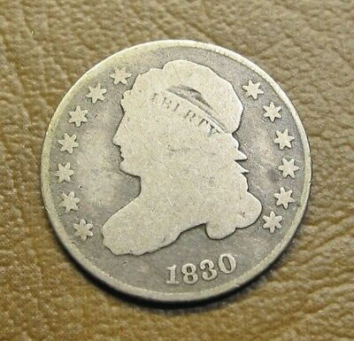 Nice 1830 Capped Bust Dime