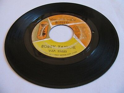 Bobby Taylor - Oh, I've Been Bless'd / Blackmail - V.i.p. (Please Read Details)
