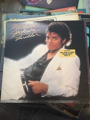 "Michael Jackson ""Thriller"" Record Vinyl Lp"