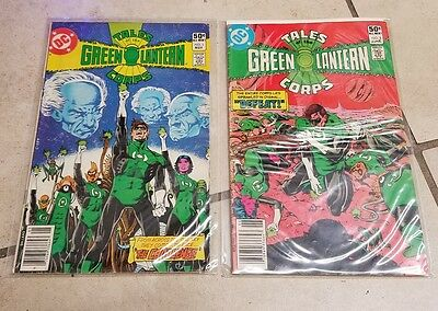 TALES OF THE GREEN LANTERN CORPS #1 & #2 ~ 1981 DC Comics