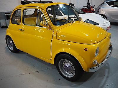 1974 Classic Fiat 500 r,900cc fuel injection,5 speed race box,special car p/x