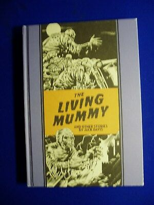 The Living Mummy & Other Stories by Jack Davis. Fantagraphics EC Library.HC  VFN