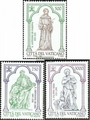 Vatican 1158-1160 (complete issue) unmounted mint / never hinged 1995 Anthony of