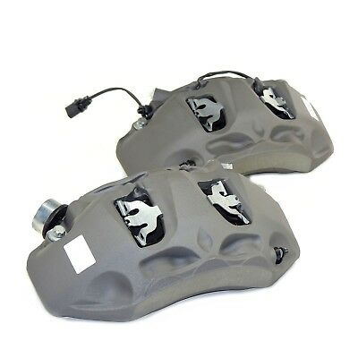brake calipers pair front performance brakes 350mm for Audi A4 S4 8W type B9