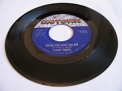 Tammi Terrell - Come On And See Me / Baby Don'tcha Worry - Motown