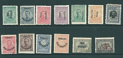 BULGARIA - 1920 Allied Occupation of THRACE