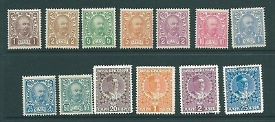 MONTENEGRO - Mint stamp collection from 1902 onwards