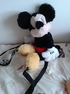 Lovely Mickey Mouse Plush Back Pack - 18 Inches