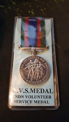 WWII Canadian Volunteer Service Medal (great condition)