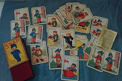 Vintage Children's Snap Sailor Tinker Tailor Solider (40 Cards)