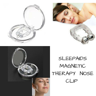 Breathe Easy Sleep Aid Stop Snoring Device Magnetic Alternative Sleep Therapy