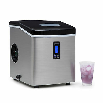 Ice Maker Machine Different Cube Size 3.3L Water Tank 150W Low Operating Noise