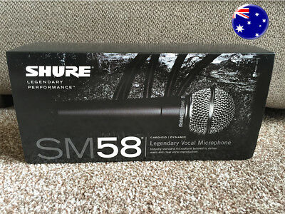 Shure SM58 S (With On/Off Switch) Vocal Mic | Aus Seller | Fast Dispatch