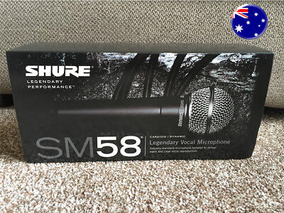Shure SM58 LC Vocal Mic | Fast Dispatch | Aus Seller | Fast Dispatch