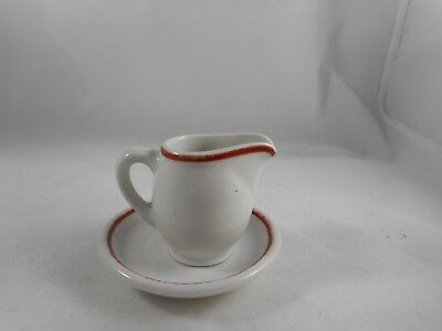 U.s. Zone Germany Childs Pitcher With Plate
