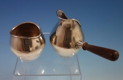 Castillo Taxco Mexican Mexico Sterling Silver Sugar & Creamer Set 2pc (#1728)