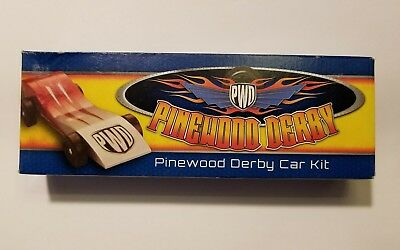 Boy Scouts of America Pinewood Derby Model Racing Car Kit USA Official BSA [New]
