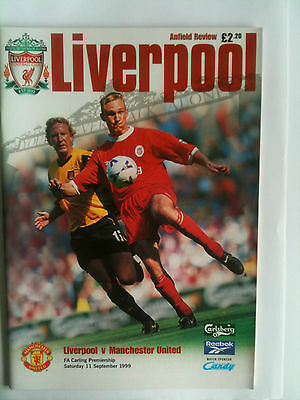 MINT 1999/2000 Liverpool v Manchester United Premier League